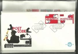 FDC Jaargang 1978 compleet onbeschreven met open klep E163/E170a
