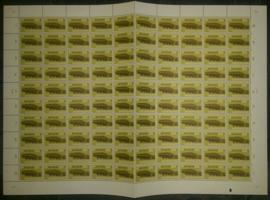Nvph 876 postfris in  vel van 100 met plaatfout