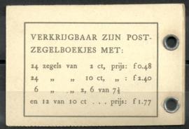 PZ 53 4 × 6 (Nvph 461) Roomkleurige Kaft (2)