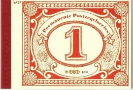 PR 27 Permanente Postzegelseries (2009)