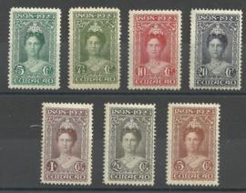 Curacao  75/81 25 Jarig Regeringsjubileum Ongebruikt (3)