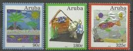 Aruba 435/437 Ons Milieu Postfris