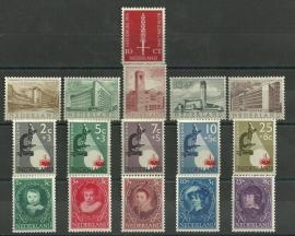 Complete jaargang 1955 Postfris