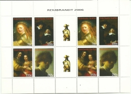 Nederlandse Antillen V1691/1694 Rembrandt van Rijn Postfris