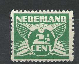 Roltanding  3 2½ ct Tweezijdige Roltanding Postfris (1)