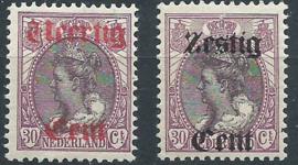 Nvph 102/103 Hulpuitgifte Postfris (1)
