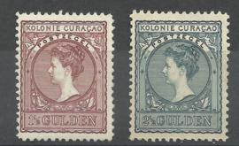 Curacao  42/43 Hulpzegel Ongebruikt (1)