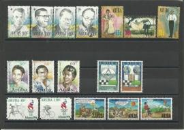 Complete Jaargang Aruba 1996 Postfris