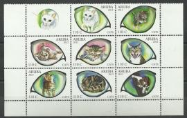 Aruba 623/630 Katten 2012 Postfris