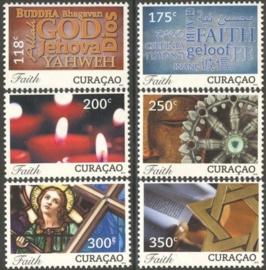 Curaçao Status Aparte 113/118 Geloof 2013 Postfris