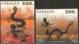 Curaçao Status Aparte  73/74  Jaar van de Draak 2012 Postfris