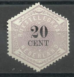 Telegram  6 20ct Ongebruikt (1) + Certificaat