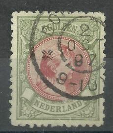 Nvph 48  5 Gld Koningin Wilhelmina Gebruikt * Koopjeshoek *