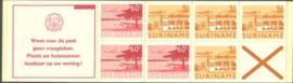 SR Postzegelboekje 4bp Postfris