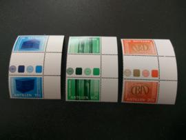 Nederlandse  Antillen 573a/575a Postfris (1)