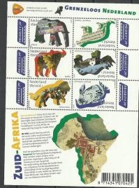 Nvph V2844/2849a Grenzeloos Nederland Zuid Afrika Postfris