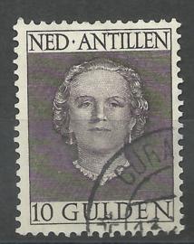 Nederlandse Antillen 233 10 Gld En Face Gebruikt (1)