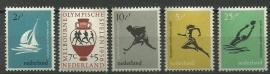 Nvph 676/680 Olympische Spelen Postfris