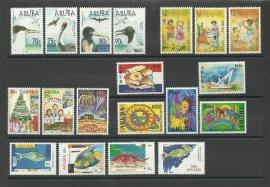 Complete Jaargang Aruba 2004 Postfris