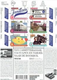 Nvph V3325/3330A Grenzeloos Nederland USA 2015 Postfris