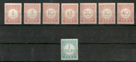 Nederlands Indië Port 41/48 Postfris