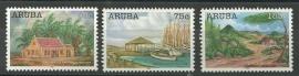 Aruba 355/357 Kunst Postfris
