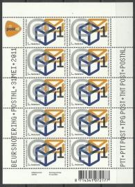 Nvph V2833 Beursnotering PostNL Postfris