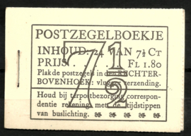 PZ 51-N 4 × 6 (Nvph 381) Roomkleurige Kaft ( 4)