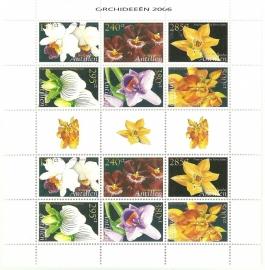 Nederlandse Antillen V1640/1645 Orchideeën Postfris