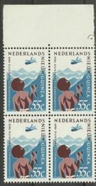 Nederlands Nieuw Guinea 53 PM in randblok Postfris