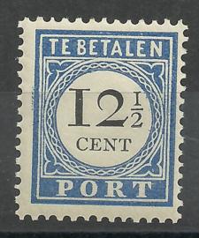 Port  23 12½ct 1894/1910 Cijfer en Waarde Type I Postfris (1)