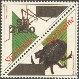 Suriname Republiek 1179/1180 Insekten Hulpuitgifte 2002 Postfris