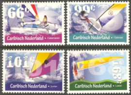 Caribisch Nederland  23/26 Zeilsport 2012 Postfris
