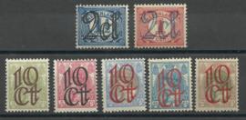 Nvph 114/120 Opruimingsuitgifte Postfris (6)