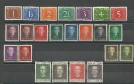 Nederlandse Antillen Jaargang 1950 Postfris