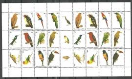 Nederlandse Antillen V1412/1423 Vogels 2002 Postfris