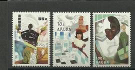Aruba  89/91 Postfris