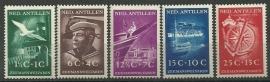 Nederlandse Antillen 239/243 Postfris