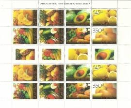 Nederlandse Antillen V1752/1759 Groente en Fruit Postfris