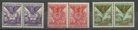Nvph 166/168 Kinderzegels 1925 in paren Postfris (4)