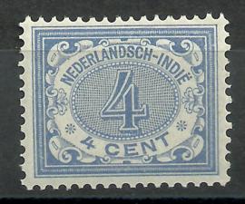 Nederlands Indië  45 4ct Cijferzegel 1902/1909 Postfris (1)