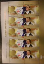 Caribisch Nederland V49/58 FXDC Blok Koningspostzegels Bonaire 2015 Postfris