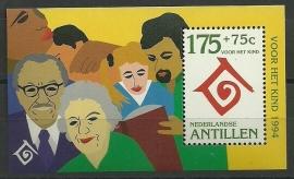 Nederlandse Antillen 1077 Blok Kinderzegels 1994 Postfris