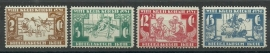 Nederlands Indië 172/175 Witte Kruis Postfris
