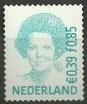 Nvph 1984 € 0,39 / fl 0,85 Duaal Koningin Beatrix Gestanst Postfris
