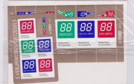 Toonbankverpakking Nvph 2670/2671 Verjaardagszegels Postfris en Ongeopend
