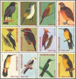 Suriname Republiek  1889/1900 Vogels 2012 Postfris