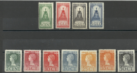 Nvph 121/131 Jubileum 1923 Ongebruikt (13)