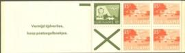SR Postzegelboekje 1a Postfris