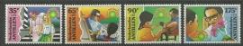 Nederlandse Antillen 1107/1110 Kinderzegels 1995 Postfris